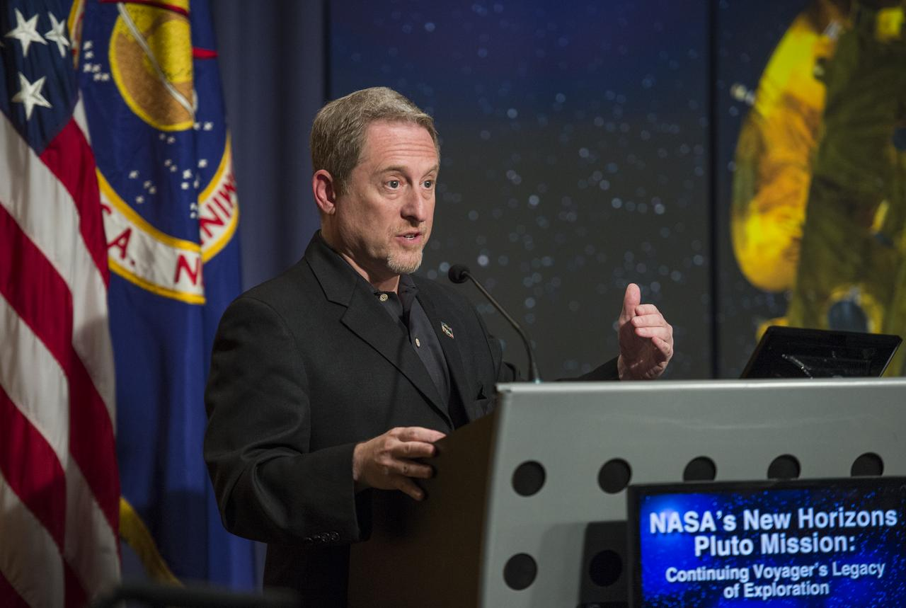Alan Stern faced many obstacles on the path to Pluto.