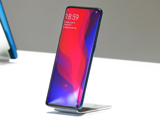 The Oppo Find X kills the smartphone notch with a motorized