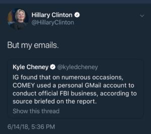 DOJ OIG on Comey, Clinton email investigation: OMG LOL   Ars Technica