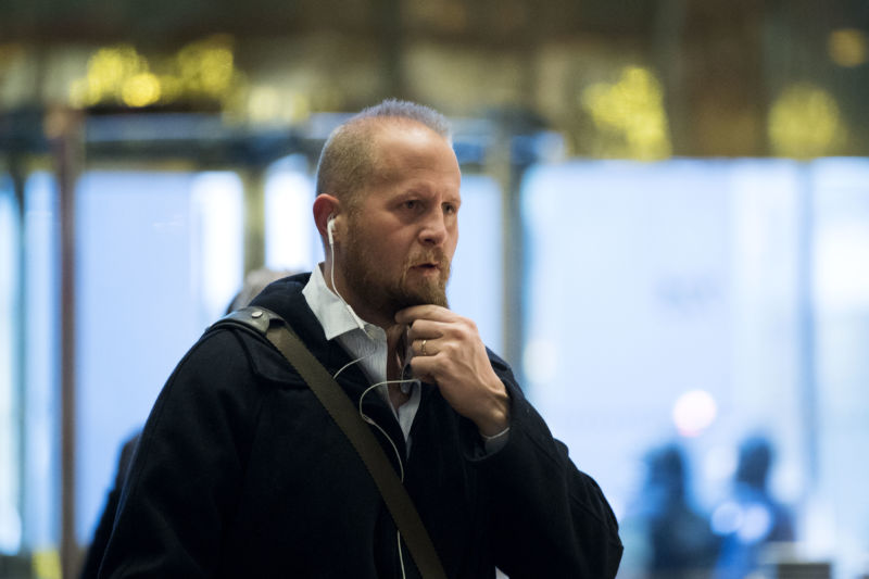 Brad Parscale, Donald Trump's campaign digital director, arrives at Trump Tower, December 6, 2016.
