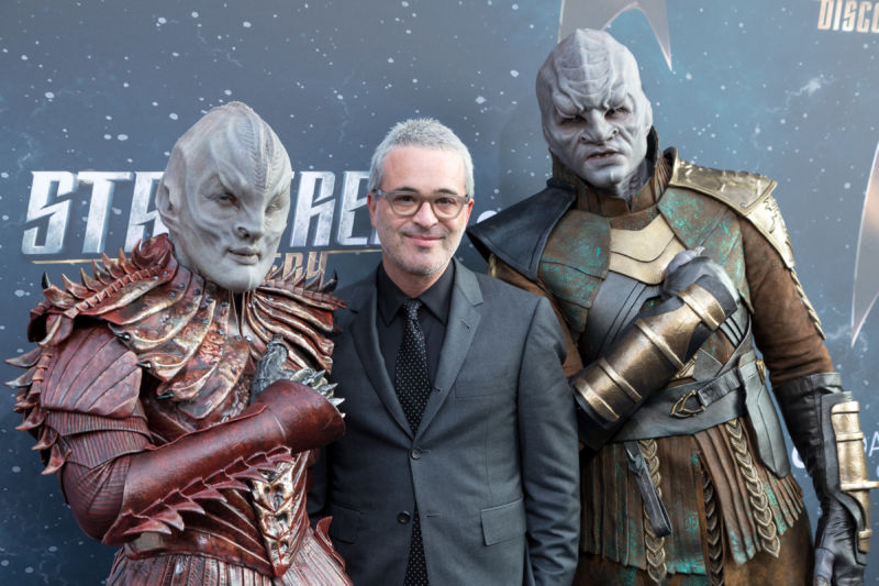 Executive Producer Alex Kurtzman arrives for the premiere of CBS's <em>Star Trek: Discovery</em> at The Cinerama Dome on September 19, 2017 in Los Angeles.