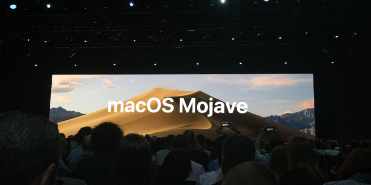 "photo image Apple announces macOS 10.14, codenamed ""Mojave"""
