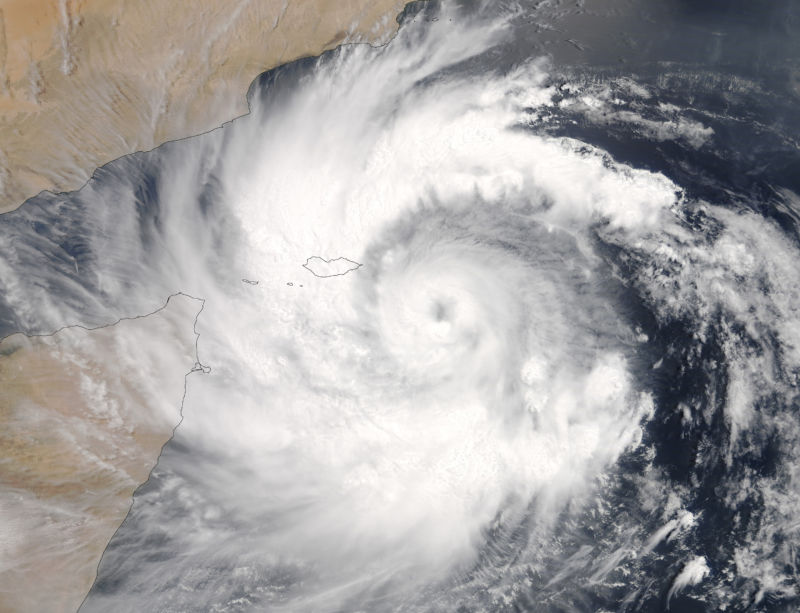 Cyclone Mekunu caused severe flooding in Oman after making landfall on May 25 as a Category 3 storm.
