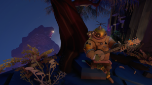 In the universe of <em>Outer Wilds</em>, a mysterious banjo's signal can be picked up from your home planet.