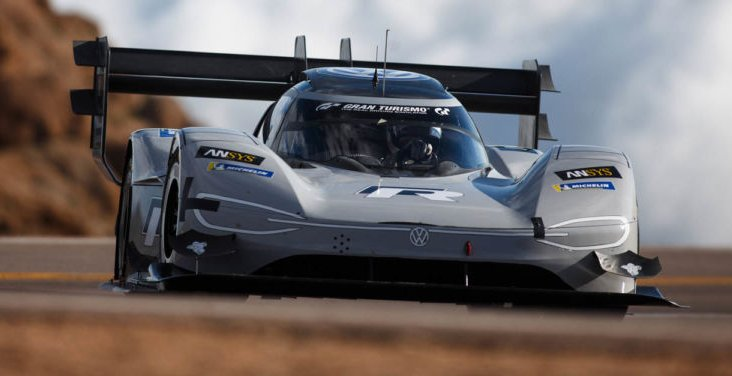 VW I.D. R Pikes Peak race car