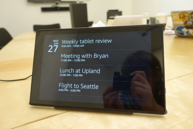 Amazon is turning its Fire tablets into portable Echo Shows | Ars