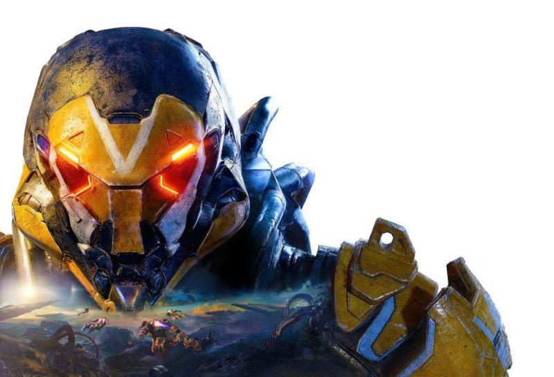 Promo image of menacing video game character.