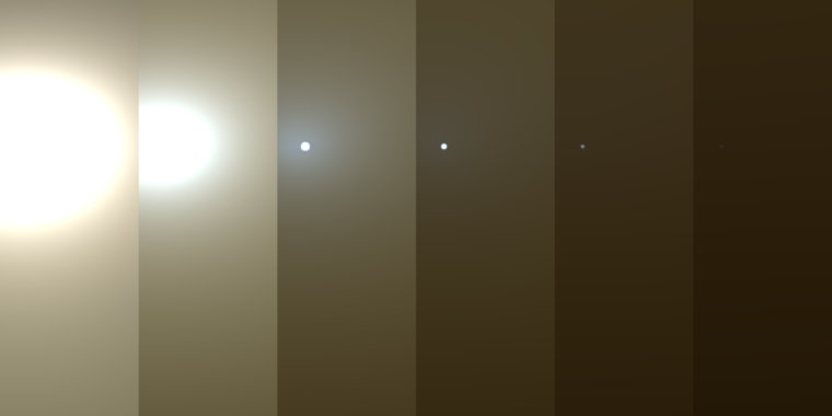 Massive Martian dust storm has put Opportunity rover in a low-power sleep thumbnail