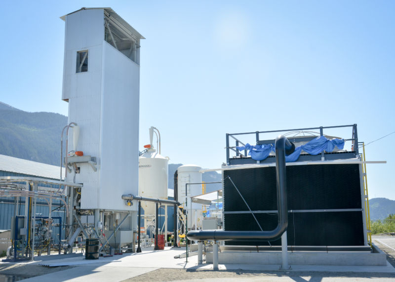 Calgary company can capture Carbon dioxide  at a cost of $94 per ton