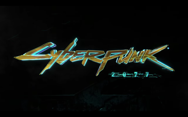 Logo for Cyberpunk 2077.