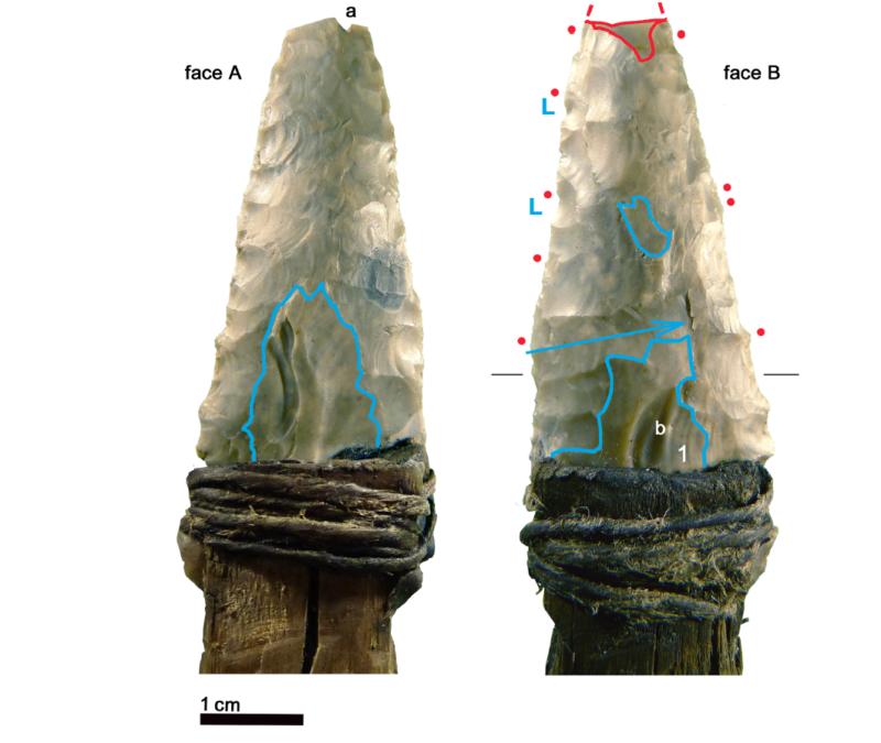 Photo of stone dagger