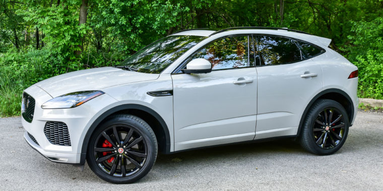 A sports car in SUV clothing: The Jaguar E-Pace reviewed | Ars Technica