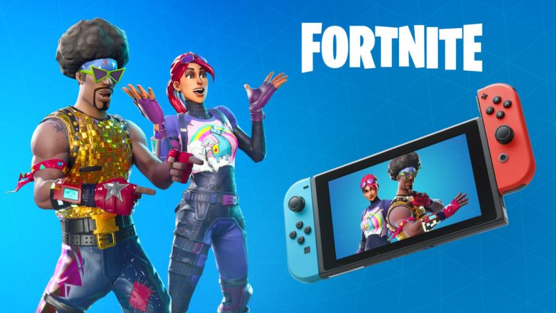 Artist's conception of Sony executives welcoming the Switch version of <em>Fortnite</em> into working with their network in the future, perhaps?