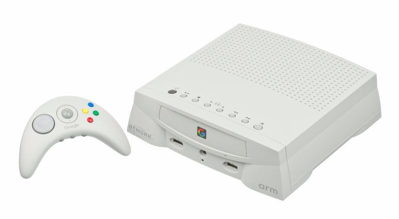 Artist's conception of what Google's gaming hardware might look like.