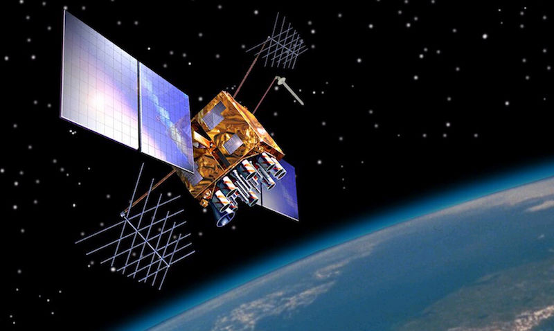 Image of a GPS satellite.