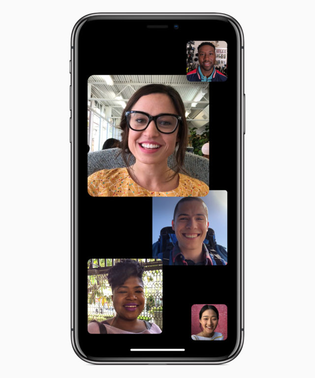 FaceTime will support calls of up to 32 people with iOS 12.