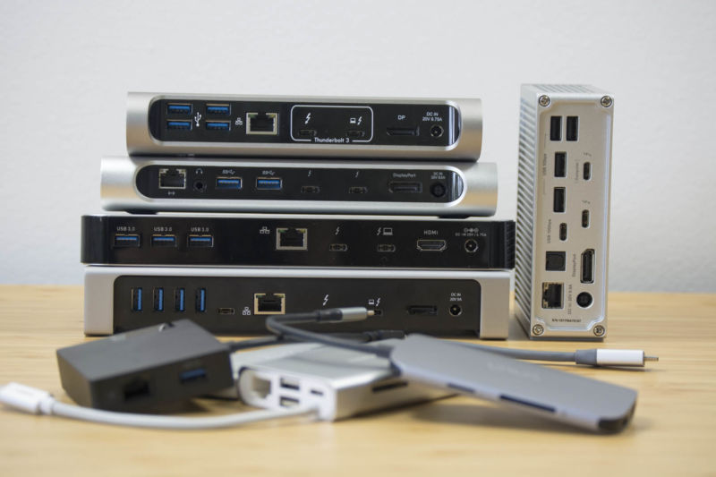 Guidemaster: Picking the right Thunderbolt 3 or USB-C dock for your desk