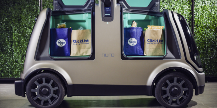 Kroger will use autonomous vehicles to deliver groceries this fall
