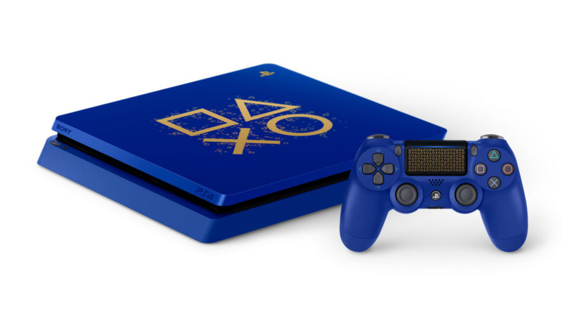 Sony launched a PS4 with a new color scheme for its Days of Play event, though it's a limited-time thing.