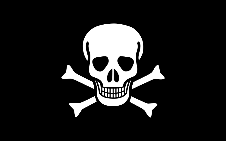 Image of skull and crossbones.