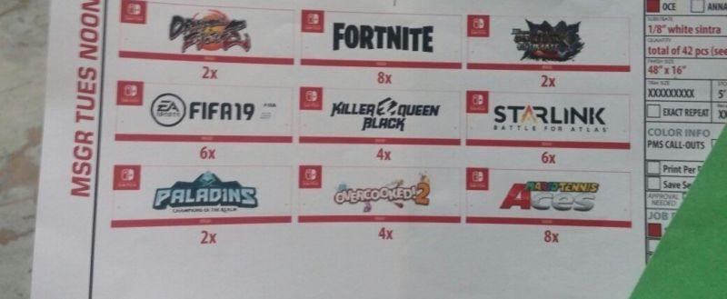 There's reason to believe this blurry, leaked photo of Nintendo's E3 booth materials is authentic.