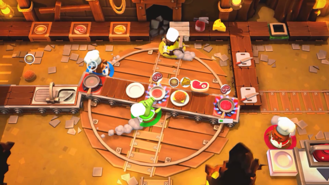 <i>Overcooked</i> is a manic co-op party game.