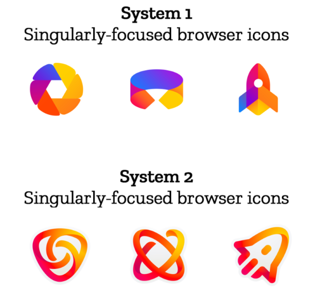 Firefox is getting new icons