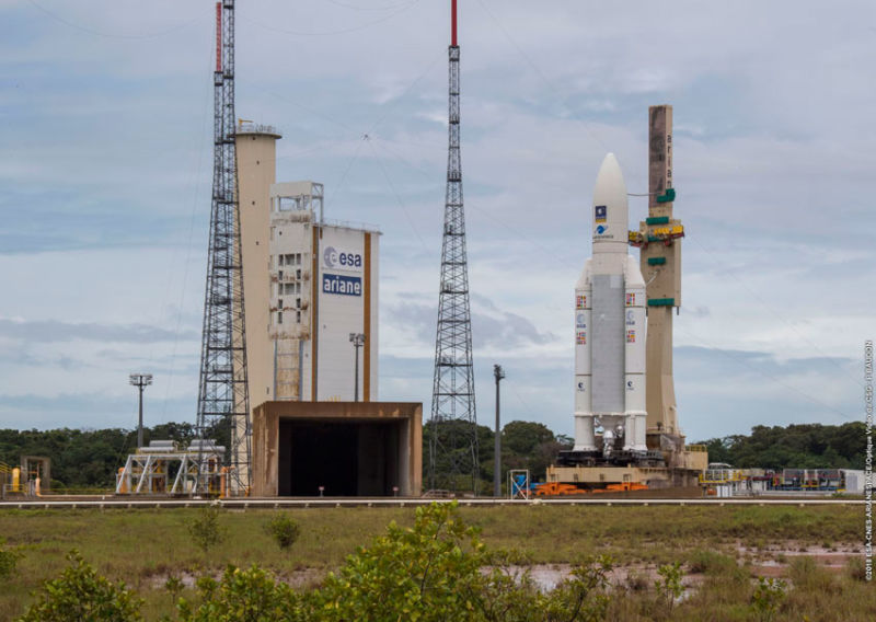 Watch SpaceX, Arianespace Launch Wednesday in Early-Morning Doubleheader