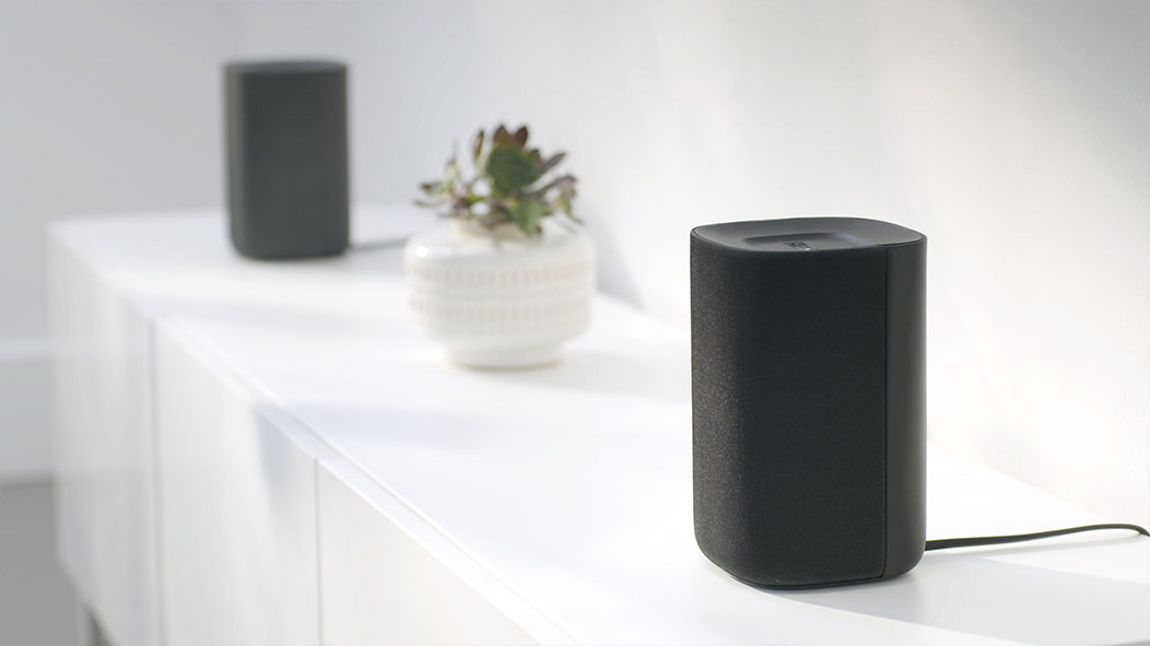 The Roku TV Wireless Speakers come in a set of two.
