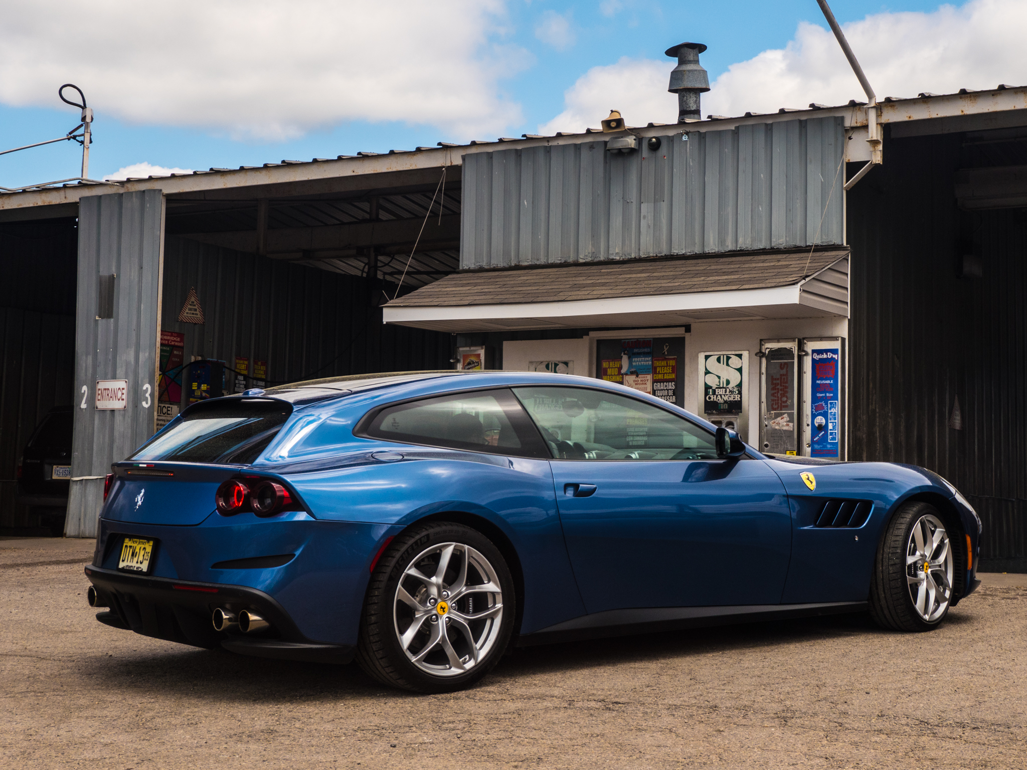 The Gtc4lusso T Is A Ferrari You Really Could Drive Every Day Ars Technica