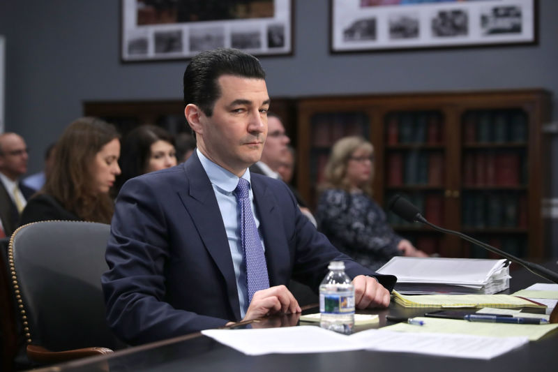Food and Drug Administration Commissioner Scott Gottlieb is not amused.