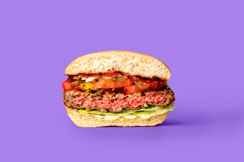 A meatless Impossible Burger, now with a dash of FDA acceptance.