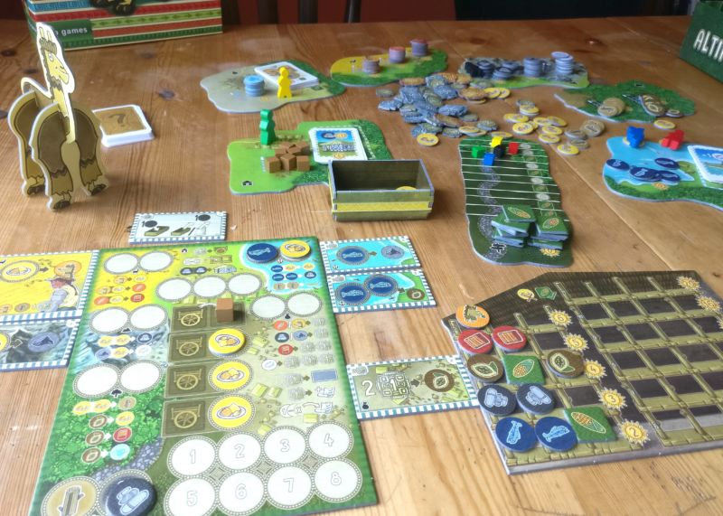Altiplano review: A brain-tickling board game about... alpacas