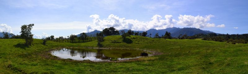 Lake Huila records centuries of environmental change in the Quijos Valley.