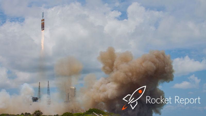 Cartoon rocket over real rocket launch.