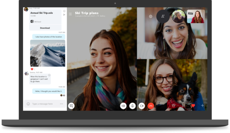 Microsoft killing off the old Skype client, adding built-in call recording