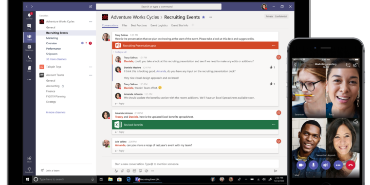 photo image Microsoft finally gives Teams what it needs to take on Slack: A free version