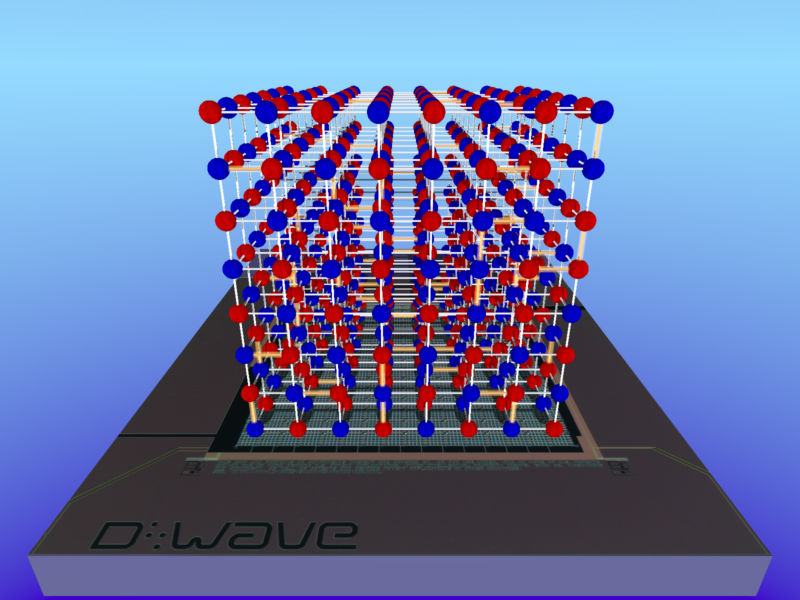 D-Wave's quantum computer successfully models a quantum system