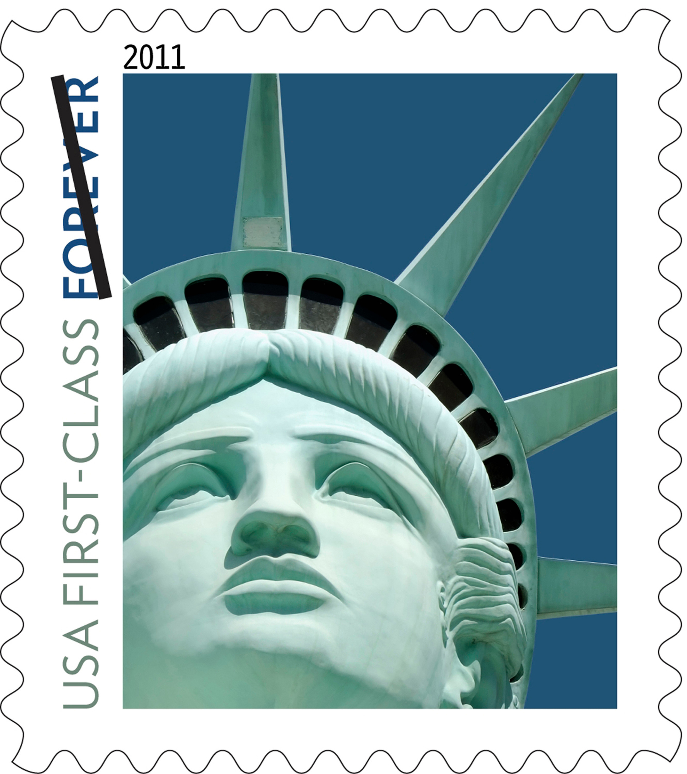 Post Office Owes 3 5m For Using Wrong Statue Of Liberty On A Stamp Ars Technica