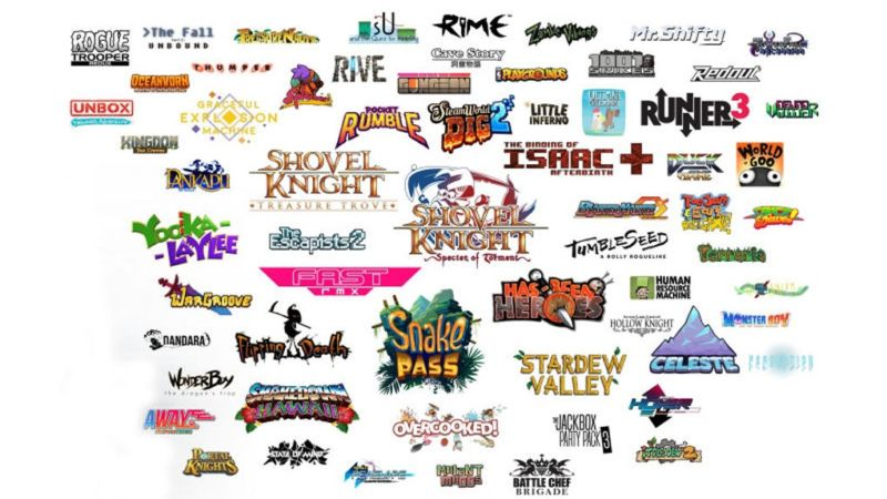 A Nintendo-proivded selection of indie games currently out (or coming soon) for Switch. Nintendo hopes lists like these will be much bigger in the future.