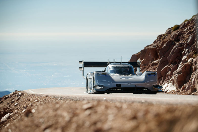This full video shows just how bonkers the VW Pikes Peak record was