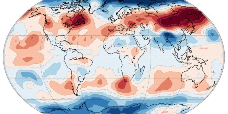 Trends in the Seasonal Temperature Cycle Bear Human Fingerprint