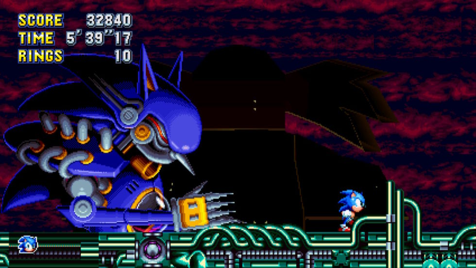 The Encore mode has a few brand-new bosses. This is the one I got hung up on during testing.