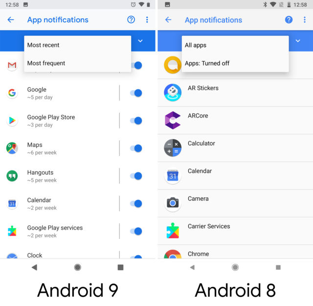 Android 9 Pie, thoroughly reviewed | Ars Technica