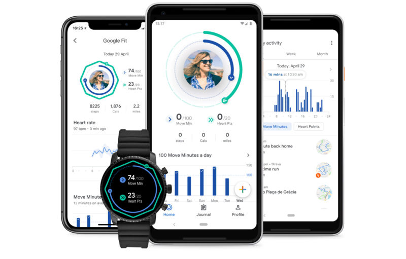 The new Google Fit.