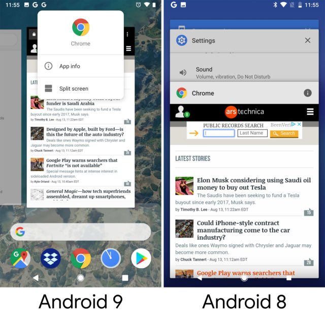 Android 9 Pie, thoroughly reviewed   Ars Technica