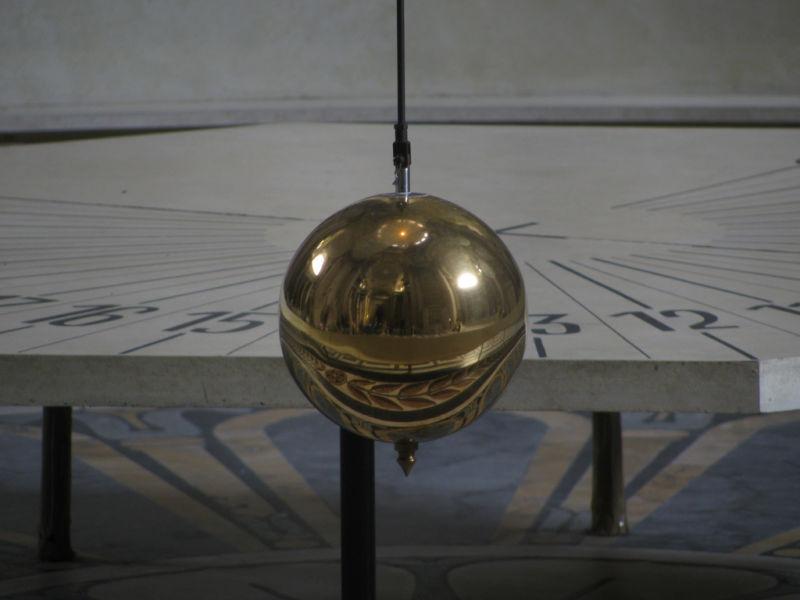 Image of Focault's pendulum
