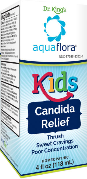 King Bio's Candida Relief for kids