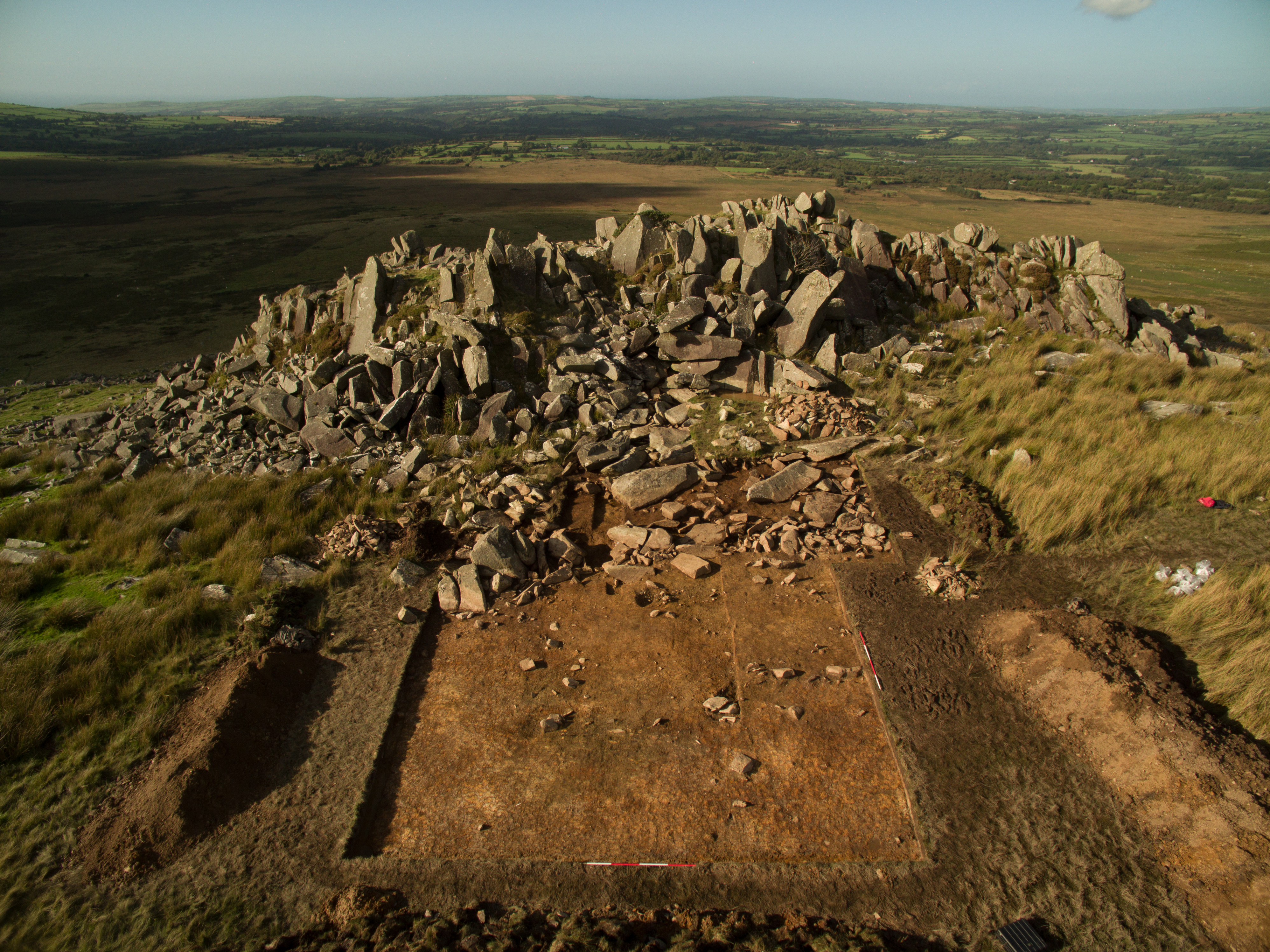 Carn Goedog, source of spotted dolerite bluestones erected in the early stage of Stonehenge's construction.