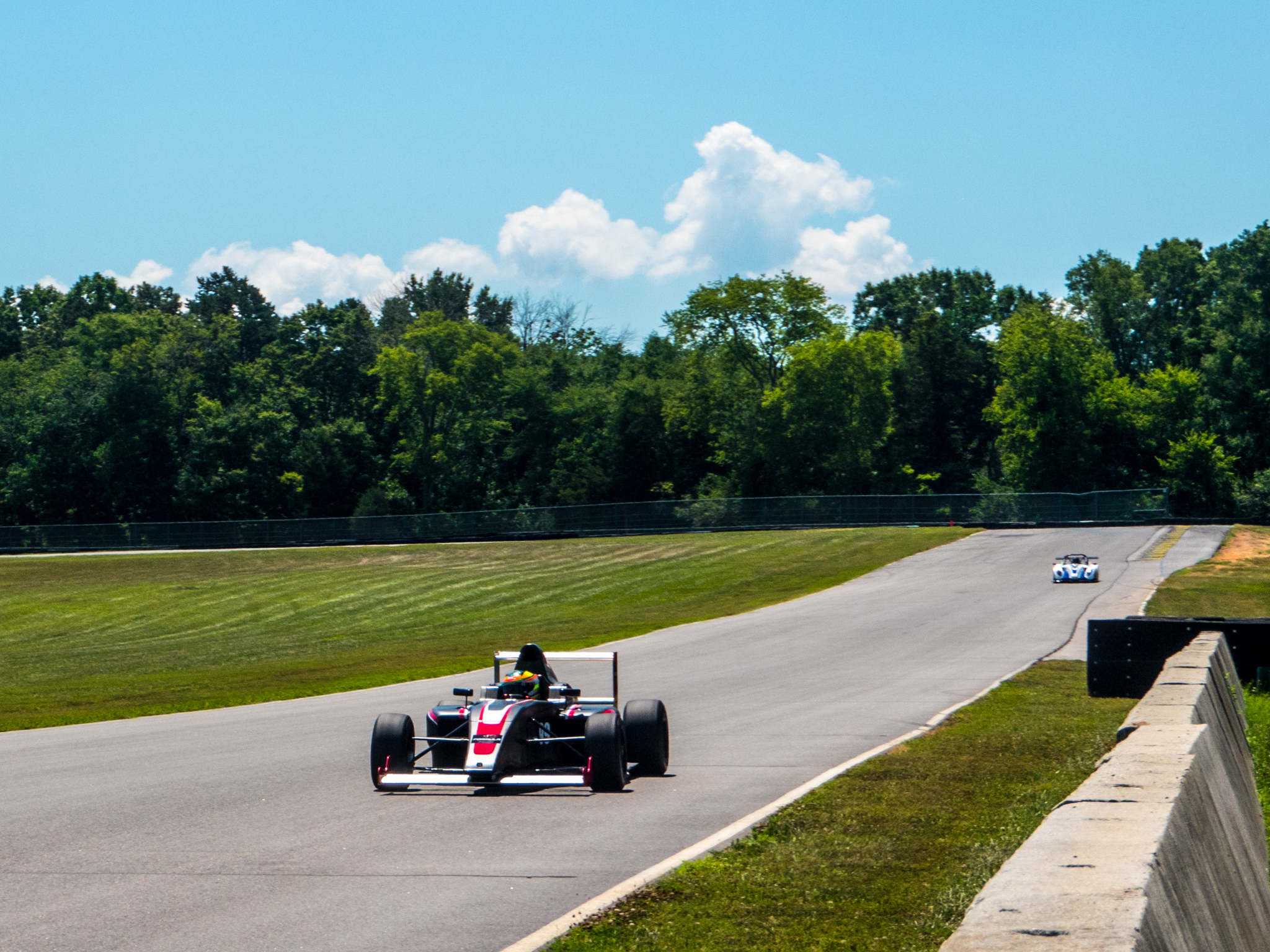 How a day driving high-downforce cars at VIR taught me I'm OK being